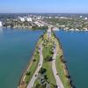 Aerial video Broad Causeway 125th Street