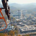 Riding the Skylinft Gatlinburg Tennessee