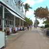 South Pointe Park Miami Beach pedestrian walkway 4k 24p