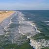 St Augustine Beach coastline 4k 60p