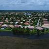 Low aerial video neighborhood