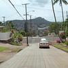 Honolulu residential neighborhood overlooking Diamond Head