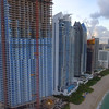 Beachfront buildings in Sunny Isles Beach