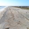 Aerial footage St Augustine Beach FL