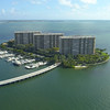 Aerial video Grove Isle Miami 4k