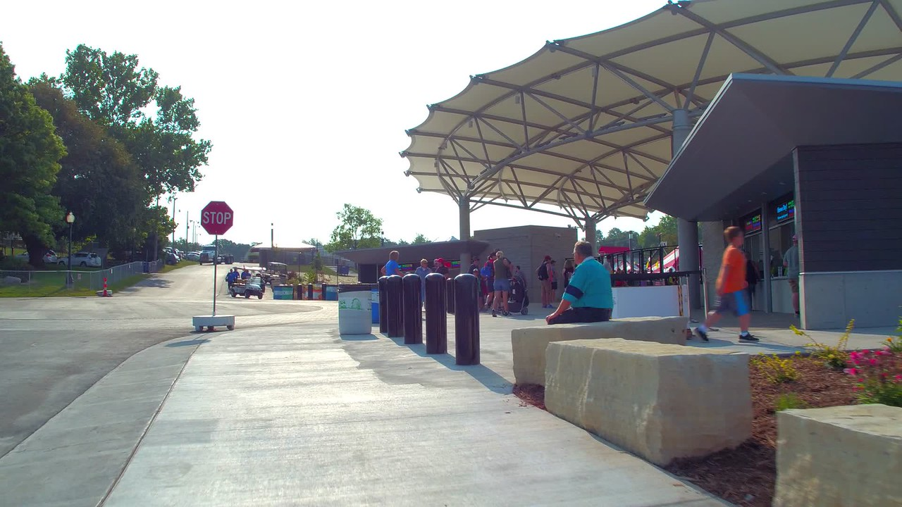 Iowa State Fair ticket entrance gates
