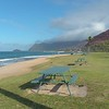 Stock video of the Maili Beach Park