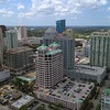 Icon Las Olas development 4k aerial video