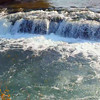 Stock footage River to Niagara Falls