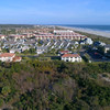 Beachfront condominiums St Augustine aerial video 4k 60p