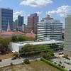 Aerial video Downtown Fort Lauderdale 4k 24p