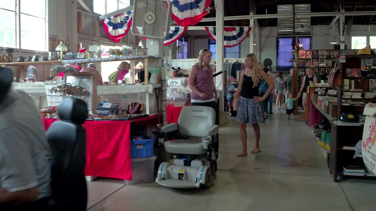Iowa State Fair antiques museum
