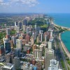 Chicago drone aerial 4k 60p