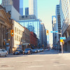 Stock video driving Yonge Street Toronto
