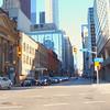 Stock video driving Yonge Street Toronto
