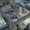 Aerial construction sites Miami Beach 4k 60p