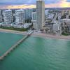 Sunny Isles Beach FL aerial tour 4k