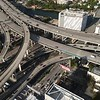 Highways and train tracks