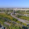 Aerial footage of the Golden Glades Interchange