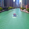 Chicago River ferry boat tour 4k 60p