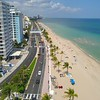 Aerial video Fort Lauderdale Beach