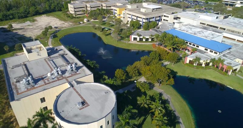 Aerial tour FIU College Campus