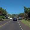 Scenic route along the  Kamehameha highway Oahu Hawaii
