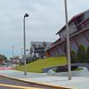 Daytona International Speedway visitor center and Imax theater