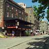 Riverfront district Savannah 4k