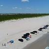 Aerial video of Brigantine Beach New Jersey 4k