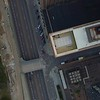 Aerial overhead shot of Downtown St Louis 4k