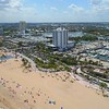 Aerial drone video of Fort Lauderdale Florida