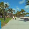 Tourists on Ocean Drive South Beach 4k 24p