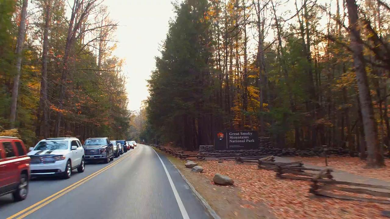 Great Smokey Mountains National Park entrance