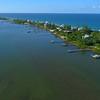 Homes on Macarthur Boulevard Hutchinson Island Florida