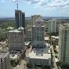 Aerial tour Downtown Ft. Lauderdale FL