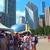 Motion video Cloud Gate Millennium Park Chicago