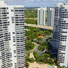 Aerial video Aventura buildings ready for Hurricane Irma 2017