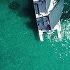 Aerial drone video snorkeling tour miami