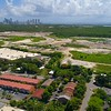 Aerial video North Miami development 4k 60p