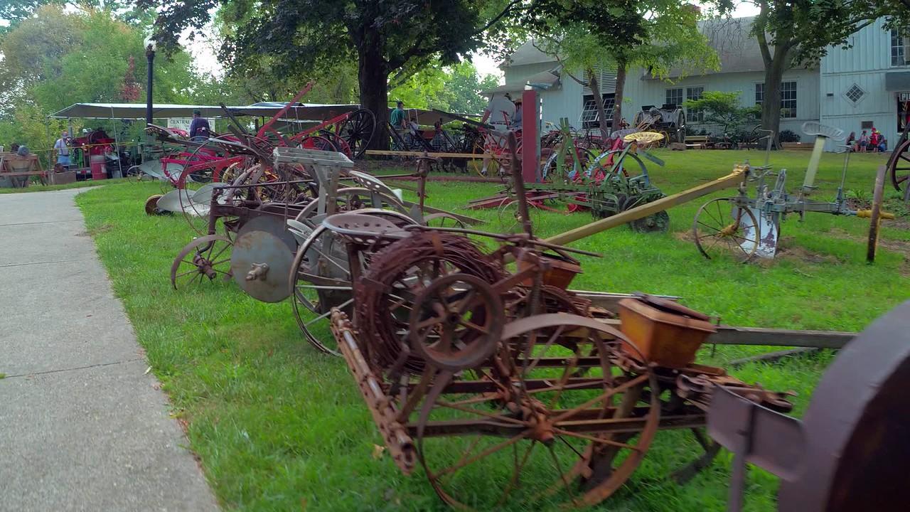 Iowa State Fair farm equipment expo