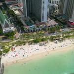 Aerial drone footage Hawaii Beach Waikiki 4k 60p
