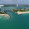 Haulover Inlet Miami aerial video