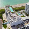 Roney Palace Hotel Miami Beach aerial