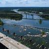 Aerial James River 4k