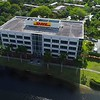 Aerial video DHL Office building Plantation FL, USA