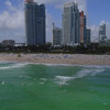 Stock video Miami Beach aerial 4k 60p