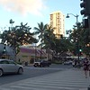 Touring the streets of Waikiki Honolulu Hawaii