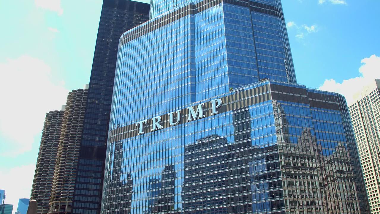 Trump Tower Chicago panorama