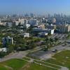 Aerial video Miami Civic Center